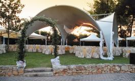 Арочные шатры