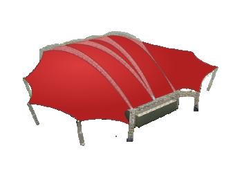 Мембранные шатры для торжеств и официальных мероприятий Лого главная