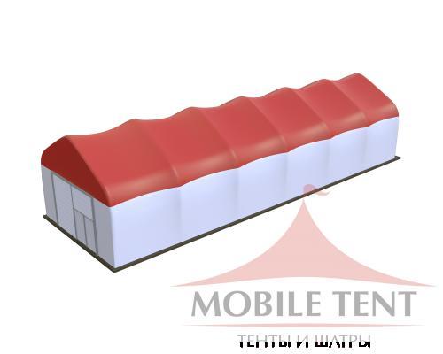 Арочный ангар 10х30 Схема 1