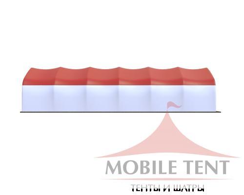 Арочный ангар 10х30 Схема 3