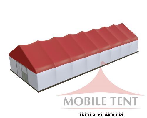 Арочный ангар 15х40 м Схема 1