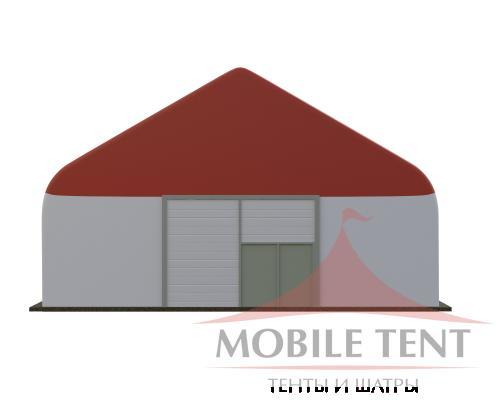 Арочный ангар 15х40 м Схема 2