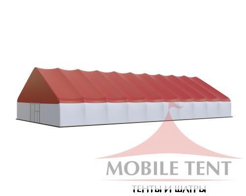Арочный ангар 25х50 м Схема