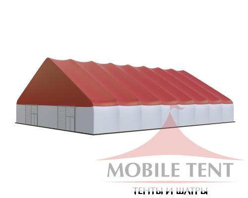 Арочный ангар 30х40 м Схема