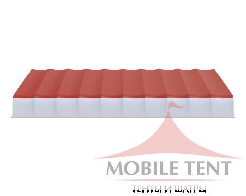 Арочный ангар 30х50м Схема 3