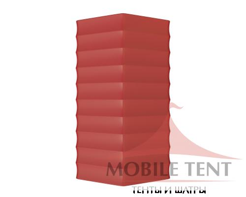 Арочный ангар 30х50м Схема 4
