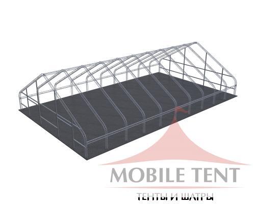 Арочный ангар 30х50м Схема 5