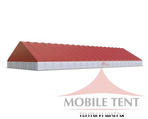 Арочный ангар 40х100 м Схема