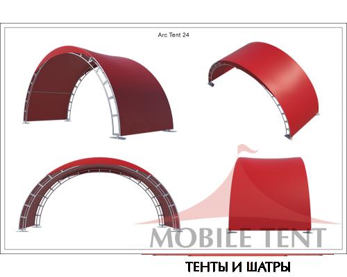 Арочный шатёр 10х3 — 30 м² Схема 5