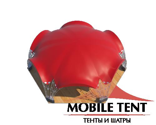 Арочный шатёр 12х10 — 94 м² Схема 4