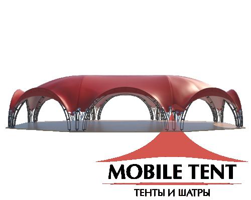 Арочный шатёр 21х15 — 287 м² Схема 1