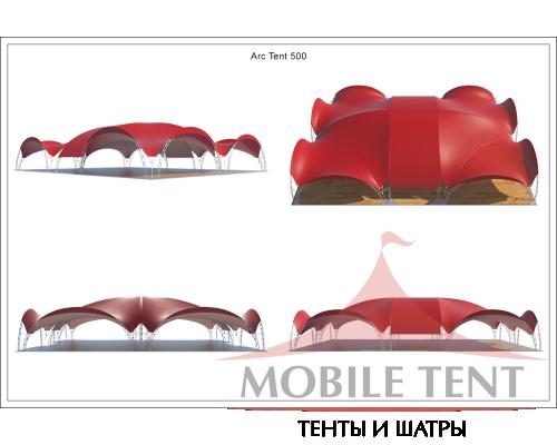 Арочный шатёр 25х20 — 500 м² Схема 5