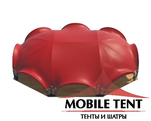 Арочный шатёр 27х20 — 460 м² Схема