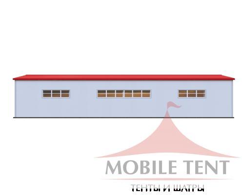 Каркасный ангар 15х40 м Схема 3