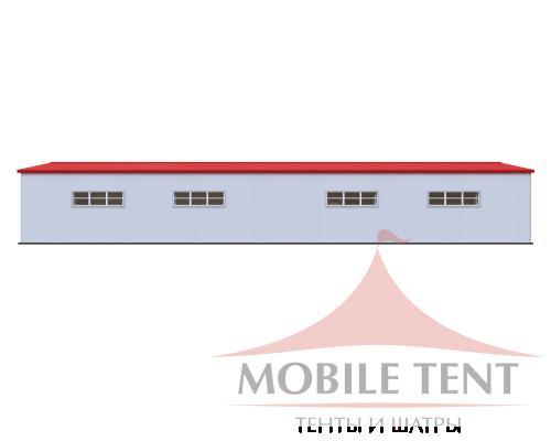 Каркасный ангар 20х50м Схема 3