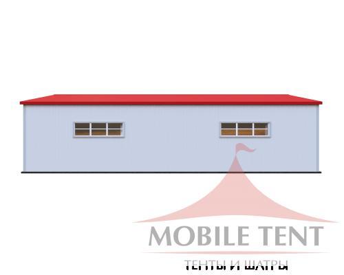 Каркасный ангар 25х30м Схема 3