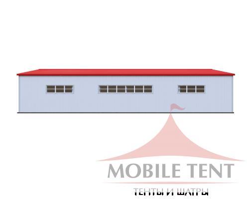Каркасный ангар 30х40 м Схема 3