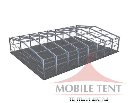 Каркасный ангар 30х40 м Схема 5