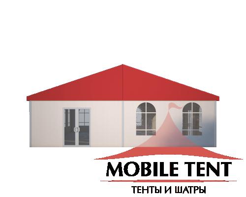 Классический шатёр 10х15 Схема 2