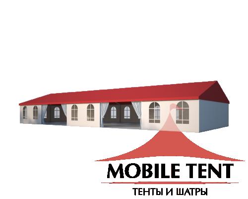 Классический шатёр 10х25 Схема 1