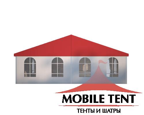Классический шатёр 10х25 Схема 2