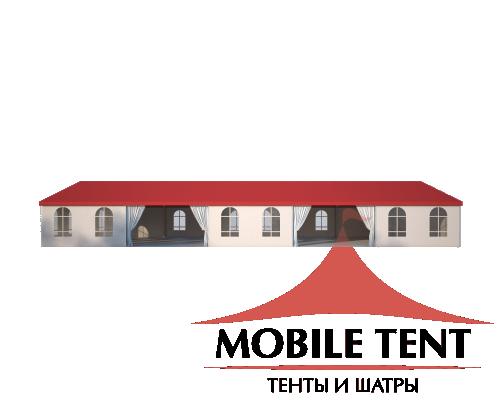 Классический шатёр 10х25 Схема 3