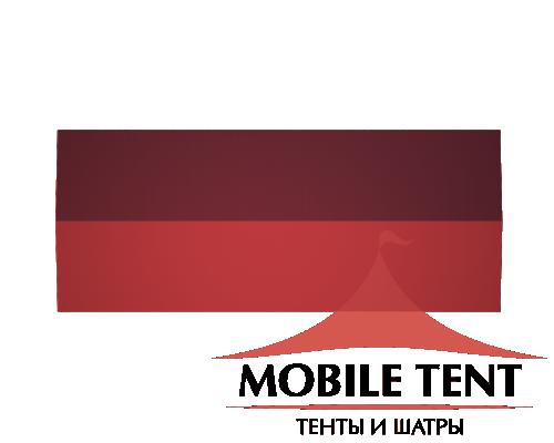 Классический шатёр 10х25 Схема 4
