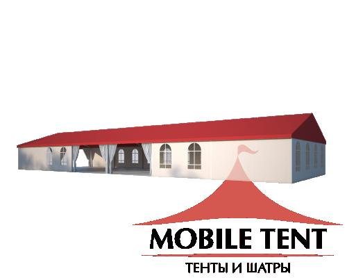 Классический шатёр 10х30 Схема 1