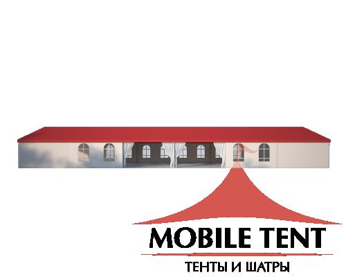 Классический шатёр 10х30 Схема 3