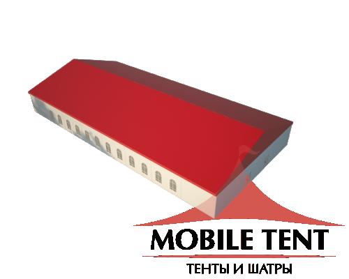 Классический шатёр 20х40 Схема