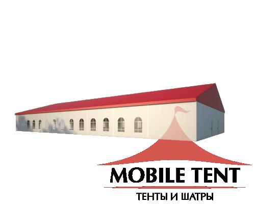 Классический шатёр 20х40 Схема 1