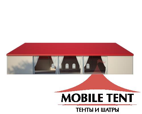 Классический шатёр 25х25 Схема 3