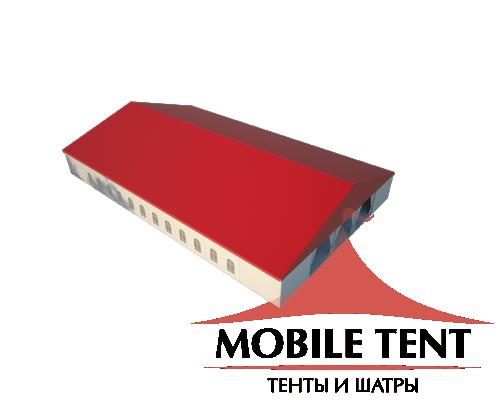 Классический шатёр 25х40 Схема