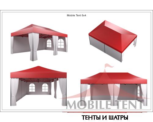 Мобильный шатёр Slim Prof 4х6 Схема 5