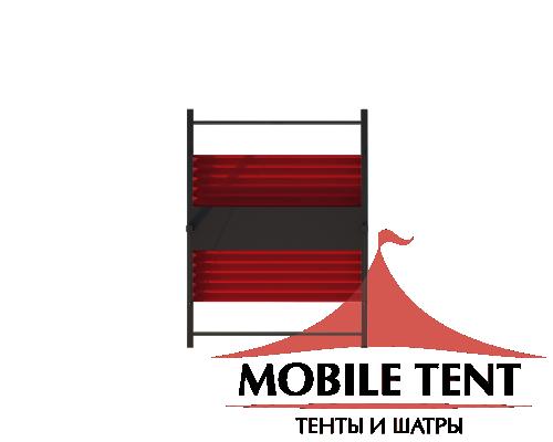 Пергола Двойная Подвесная 8х10 Схема 4