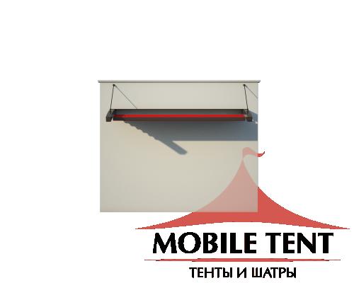 Пергола Подвесная 3х5 Схема 2