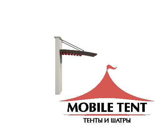 Пергола Подвесная 5х8 Схема 1
