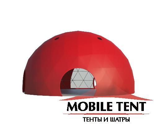 Сферический шатер диаметр 14 м Схема 2