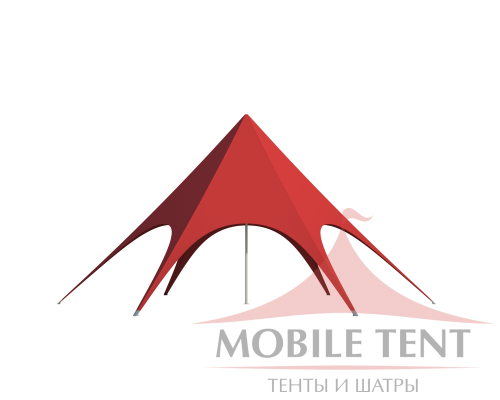 Шатёр Звезда (Диаметр 10 м) Схема 2