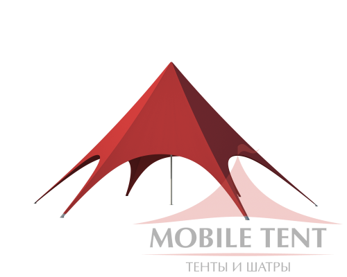 Шатёр Звезда (Диаметр 12 м) Схема 1