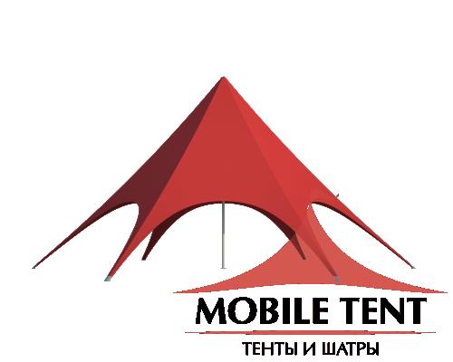 Шатёр Звезда (Диаметр 12 м) Схема 2