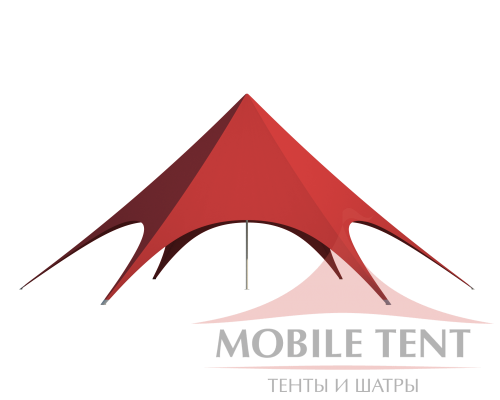 Шатёр Звезда (Диаметр 14 м) Схема 2