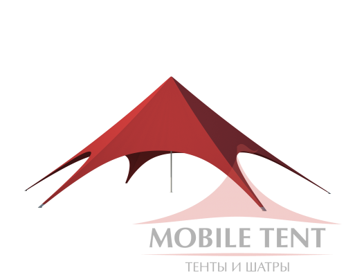 Шатёр Звезда (Диаметр 16 м) Схема 1