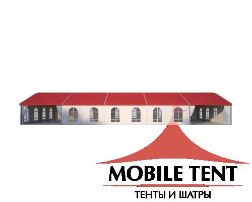 Шатёр для мероприятий 10х25 Схема 3