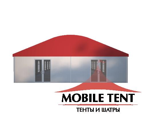 Шатёр для мероприятий 10х30 Схема 2