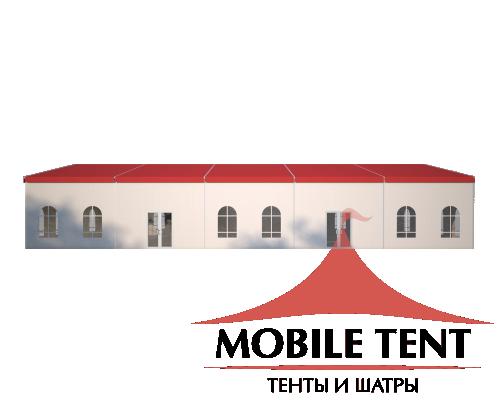 Шатёр для мероприятий 15х25 Схема 3