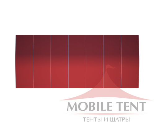 Шатёр для мероприятий 15х35 Схема 4