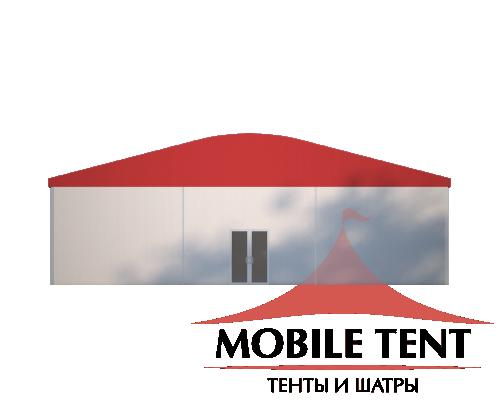 Шатёр для мероприятий 15х40 Схема 2