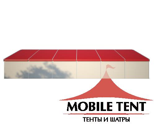 Шатёр для мероприятий 25х30 Схема 3