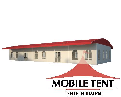 Шатёр для выставок 10х25 Схема 1